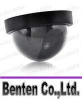 Wholesale HOT Fake Dummy Dome Surveillance CAM Dummy Indoor Security CCTV Camera flashing for Home Camera LED LLFA2891F