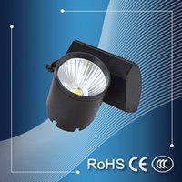 Wholesale Promotion price high quality led cob track light black housing track light w led track light