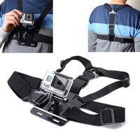 Wholesale GoPro Accessories Adjustable Chest Mount Harness Chest Strap Belt for GoPro HD Hero SJ4000 SJ5000 Sport Camera