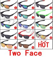 plastic lens - 2016 new sports sunglasses frames TOW FACE Mens Outdoor square sun lenses eyewear Skiing driving Cycling goggles UV400 UNISEX