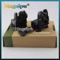 airsoft rear sight - Gen Back up Sight Front And Rear Folding Sights For Airsoft mm Tan and Black