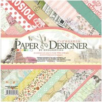 bathroom designer paper - 8 quot x quot PAPER DESIGNER Vintage Paris Scrapbook Craft Paper Pad sheets Retro Patterned Papers designs