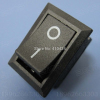 Wholesale AC A V A V ON OFF I O Rocker Switch Pin Electronic components DIY