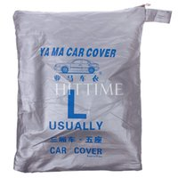 Wholesale New Convenient Universal UV Waterproof Outdoor Full Car Auto Cover L M