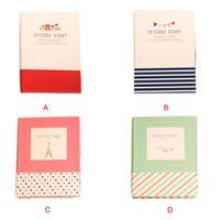 Wholesale Newly Design Korean Creative Tower Hardcover Combine Memopad Notepad Stationery Diary Notebook Office School Supplies