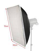 aluminum foil reflector - 50 cm in Square Cube Softbox Diffuser Aluminum Foil Reflector Tent Studio Photography order lt no track