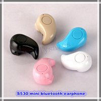 earphone - Hot sale S530 mini sport bluetooth earphone earbuds V4 EDR wireless stereo bluetooth headset handsfree headphone with colors