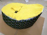 Wholesale yellow football baby bean bag chair blue seat doomoo beanbag sleeping sofa beds