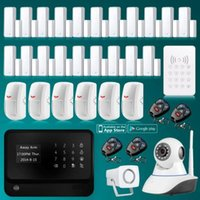 Wholesale 2015 WiFi GSM SMS GPRS Wireless Home Security Alarm System Self Test Function