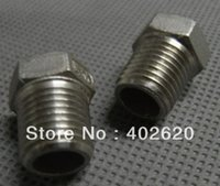 Wholesale SS304 Bushing NPT thread bushing stainless steel plug barb connectors barbs pipe fittings barb fitting