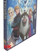 Wholesale Best quality DVD MOVIES FROZEN puzzle cartoon dvds Frozen