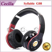 Wholesale Syllable G08 Folding Design Wireless Bluetooth Stereo Headphones with Mic Built in Noise Cancelling HD High Fidelity Audio Amplifier