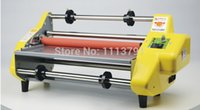 Wholesale Brand New quot Laminator Four Rollers Hot Roll Laminating Machine Fast Shipping