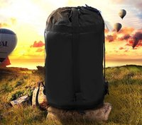 Wholesale Cheap BlueField Lightweight Nylon Compression Stuff Sack Bag Outdoor Camping Sleeping Small Bags For x26x26cm M x22x22cm S