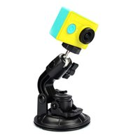 Wholesale Car Suction Cup Adapter Window Glass Camera Tripod Mount for Xiaomi Yi sports Camera accessories new arrive