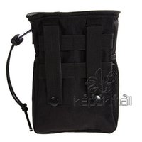 Wholesale Recycle Collection Pouches Nylon Waterproof Recycle Collection Small Pouch NO Cheap Molle Military Carrying Bag Drawstring