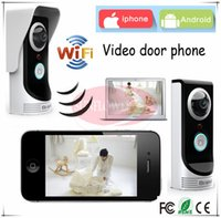 bell systems - Brand new Wifi video door phone door bell intercom systems App can be run in Android and IOS devices