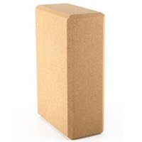 Wholesale 4x6x9 Inch Natural Cork Yoga Block Brick Yoga Block B2C Shop
