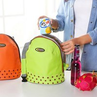 adult lunch cooler - Insulated Tote Lunch Bag Picnic Box Canvas Cooler Thermal Food Drinks Handbag Lunchbox For Adults Kids ZD0020 Kevinstyle