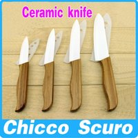 Wholesale ceramic knives inch kitchen cooking tools PARTNER multicolor handles oxide zirconium Ceramic knife set