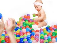 Wholesale Swimming Ball Kids Toy Swimming Ball Hot Kids Posecurity and Tasteless Toy New Children Thickening Ocean and wave Ball