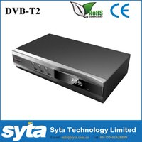 Wholesale HD DVB T2 Digital High Definition Video Broadcasting Terrestrial Receiver Compatible with MPEG MPEG H TV Set Top Box