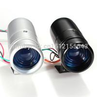 Wholesale High Quality Black Silver Adjustable Tachometer RPM Tacho Gauge Shift Light Blue LED Lamp