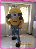 Wholesale Despicable me minion mascot costume custom fancy costume anime cosply kits mascotte fancy dress carnival costume
