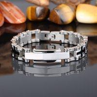 bicycle bracelet sale - Sales Stainless Steel Bicycle Chain Men s Bracelets Fashion Brand Male Jewelry MM Mens Bracelets Bangles ID Bracelet Men