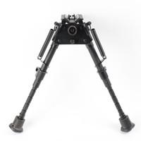 Wholesale 6 inch Harris Style Bipods Heavy Duty Degree Swivel Tilt level Pivot