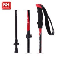 aluminium walking sticks - Naturehike Outdoor Camping Joint Folding Walking Cane Aluminium Walking Stick alpenstock Trekking Pole baston plegable