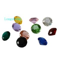 Wholesale 10pcs mm colors jewel crystal diamond wedding decoration wedding gift