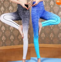 Wholesale 2016 Women Gym Fitness Bodybuilding And Clothes Running Yoga Clothing Sports Pants Leggings For Female Legging Workout Sport