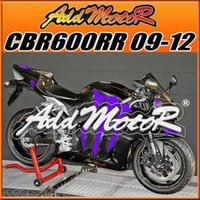 Wholesale Cbr Fairing Kit Purple - Addmotor HotSell Injection Mold Fairings Fit Honda F5 CBR600RR 2009-2012 CBR 600RR 09-12 Full Kit Scratches Purple H69536 Five Free Gifts
