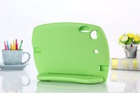 baby red skin - Baby Safe EVA Foam Handle Stand Case For ipad mini Portable Shockproof Best Qualtiy Soft Handle Blue green red colors