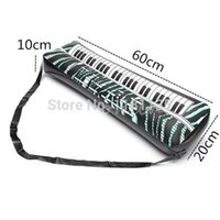 Wholesale 24 inches Inflatable Keyboard Piano Musical Inatrument Fun Holiday Party Music Toy