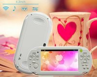 game console - 2014 new hot video game console C4302 inch game console portable games console ZKT