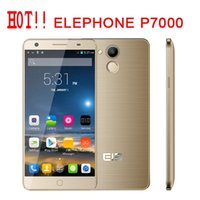 Wholesale Elephone P7000 quot IPS MTK6752 bit Octa Core GB GB G LTE FDD Mobile Phone Android5 telephone GPS MP