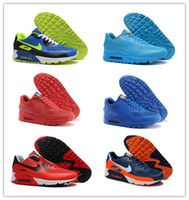 Wholesale Nike Air Max Hyperfuse Independence Day Men Running Shoes With US Flag Athletic Running Shoes Trainers