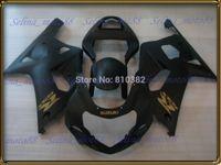abs body kit - Motorcycle fairing kit for SUZUKI GSXR GSXR GSX R750 K1 matte black panels body PM10