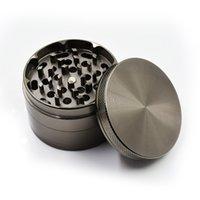 Wholesale 63MM Zinc Parts CNC Teeth Gunblack Colors Herb Grinder Herb Grinder Machine Metal Herb Grinders Best Quality