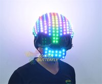 Wholesale Customized Luminous Motorcycle Helmets Full Color Motorcycle Helmets for Men and Women PVC Material Strobe Flash and Fade Modes