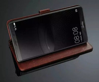 achat en gros de huawei ascend compagnon bascule-En option pour Huawei Mate 8 Case Stand Ultra-mince couverture Luxe original Colorful Flip Portefeuille en cuir pour Huawei Ascend Mate 8