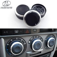 Wholesale Car AC Knob Aluminum alloy Air Conditioning heat control Switch accessories suitable for Great wall Hover M2 FLORID COOL BEAR