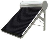 18 tubos de tubería de calor del calentador de agua solar, JJL alta colector de energía sistema de calentamiento solar de agua a presión compacta géiser solar
