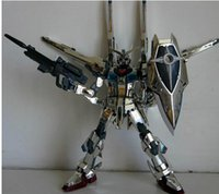 akatsuki gundam - TV silver Akatsuki am Shiranui Kit anti beam coating with bracket Assembled am Model toy