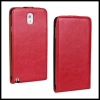 Cheap New Year Hot!!! For Galaxy Note 3 Leather Case. Crazy horse Flip Cover Case For Samsung Galaxy Note 3 N9000