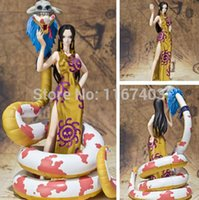 Wholesale One Piece Boa Hancock Adult Action Figure Sex toy cartoon doll baby toy puzzles for adults Snake Kyi action figure anime