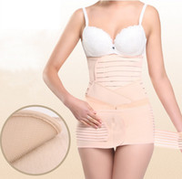 Wholesale 3 waist shapwear New postpartum recovery belt Elastic cincher Soft body shaper Pregnant woman slimming belly band