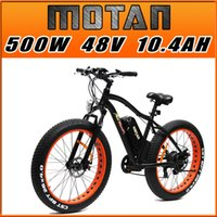 bicycle tire - US IN STOCK Addmotor MOTAN Fat Tire Fork Suspension E Bike Shimano Orange Matte Black W V quot SAMSUNG Lithium Electric Bicycle EB565